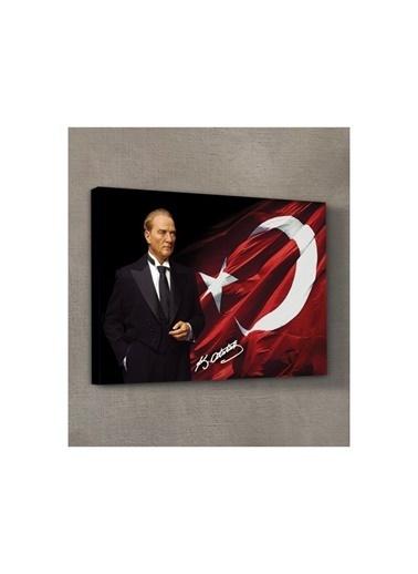 Artikel Atatürk-26 Kanvas Tablo 50X70 Cm Renkli